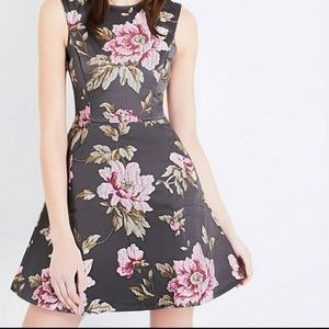 Ted Baker floral dress with pockets